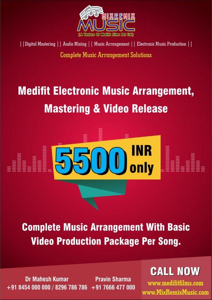 Digital Audio Mastering by Medifit Films